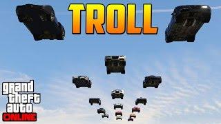 CARRERA SUPER TROLL! + TROLLEADA FINAL!! - Gameplay GTA 5 Online Funny Moments (Carrera GTA V PS4)