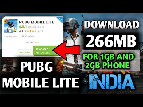 How To Download Pubg Mobile Lite from play store  2018 update 0.5.0 (hindi)
