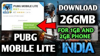 How To Download Pubg Mobile Lite from play store  2019 update 0.5.0 (hindi)