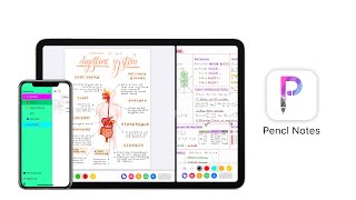 Gambar cover Notability + GoodNotes 5 + Apple Notes = Pencl Notes (awesome new app for the iPad)