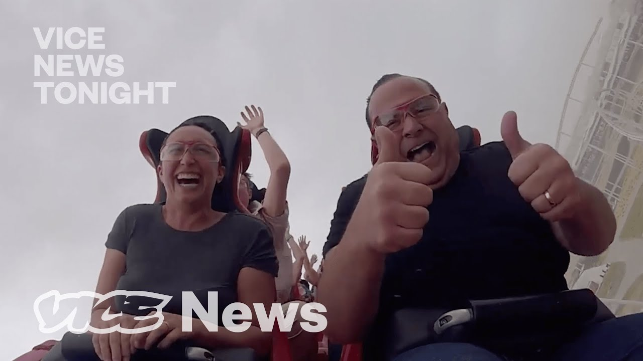 Meet the Guy Who Rides Roller Coasters for a Living