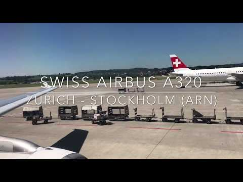 Flight Report | SWISS economy class | Zurich - Stockholm | Airbus A320