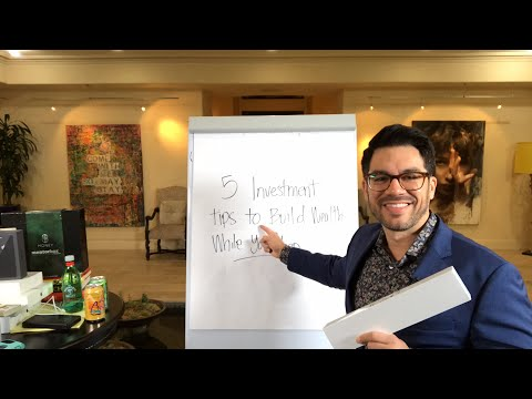 📚💵5 Investment Tips To Build Wealth While You Sleep😴 💵 tailopez.com/investingmoney