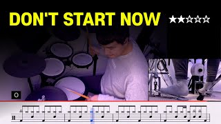 Don't Start Now - Dua Lipa (★★☆☆☆) Pop Drum Cover