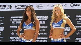 Mayweather vs McGregor Corona Girls Unveiled
