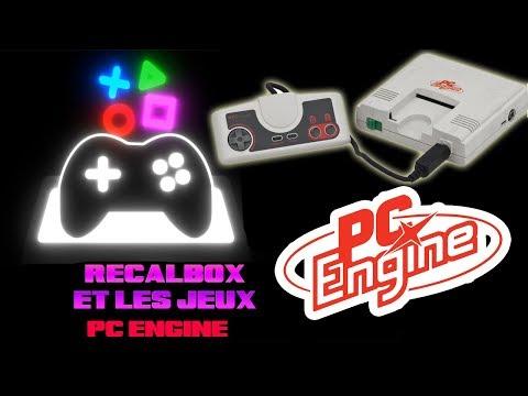 recalbox 4.1 et les jeux pc engine turbo graphx et meme super cd rom