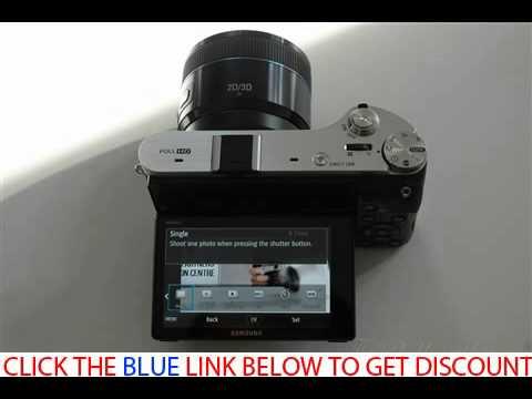 Samsung NX300 Smart Wi Fi Digital Camera Body & 20-50mm Lens