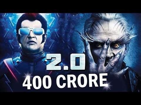 Rs 400 Crore! RajnikanthAkshay Kumar's 2.0 Movie Budget  Most Expensive Film