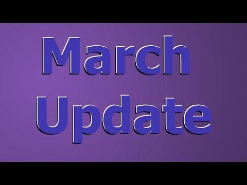 March Update - PAX, LP's, Uni & AFL