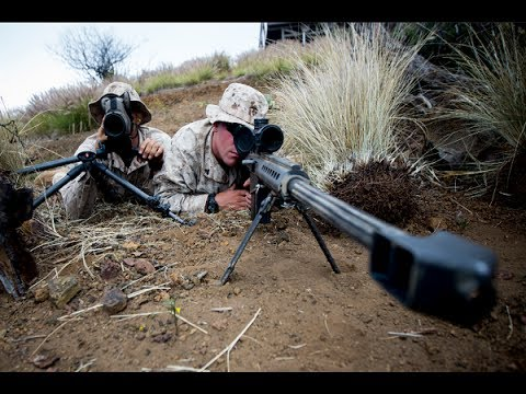 Marine Scout Sniper Training Sniper Kill Even Without Scope