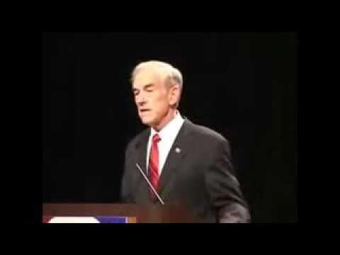 Ron Paul Incredible 13 Minute Anti Government Speech