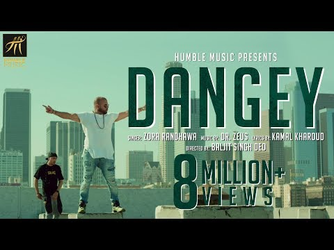 DANGEY | ZORA RANDHAWA | DR. ZEUS | OFFICIAL VIDEO | HUMBLE MUSIC