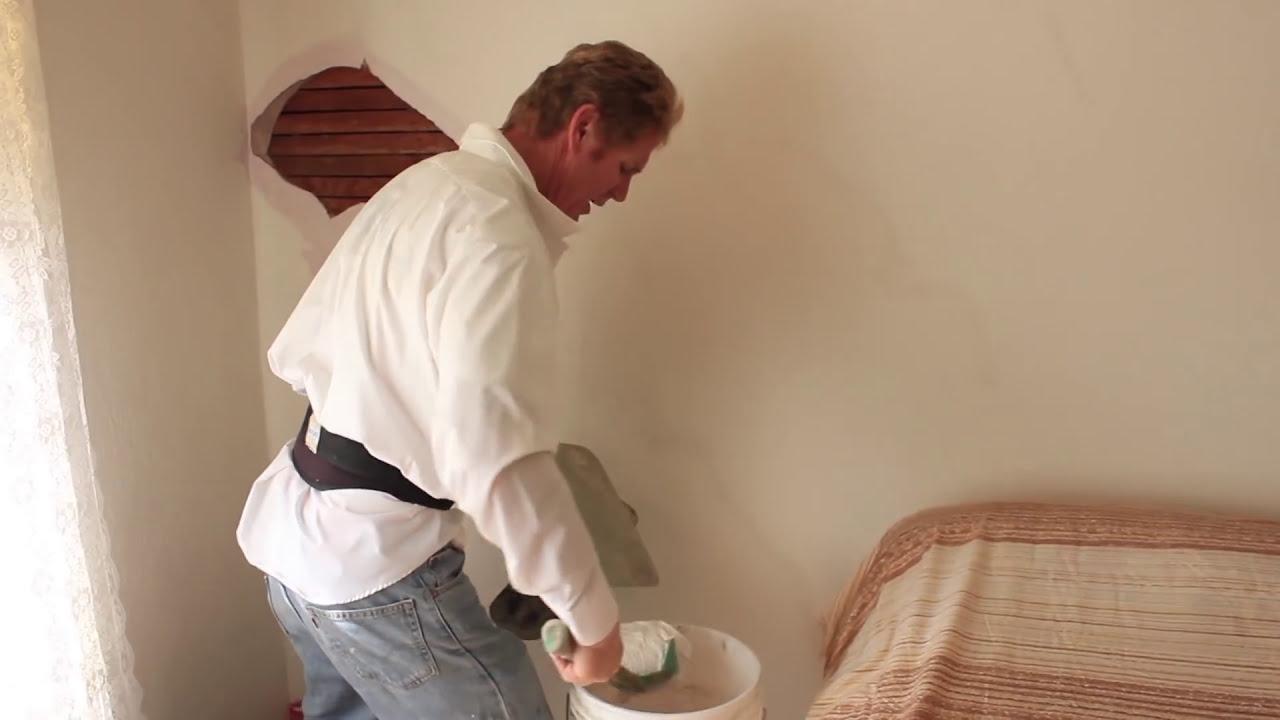 Repair Interior Plaster Walls Hairline Cracks Caused By Settling
