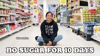 i quit sugar for 10 days - part 2 | clickfortaz