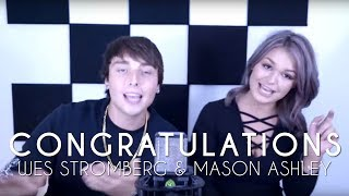 Post Malone - Congratulations (cover by Wesley Stromberg & Mason Ashley)