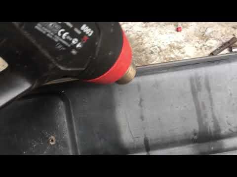Реставрация бампера Ваз 2109.