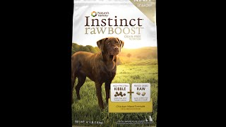 Pet food is killing our Pets, Instinct Raw Dog Food