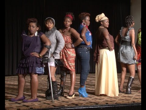 RWANDA: DISABLED PEOPLE IN FASHION SHOW!