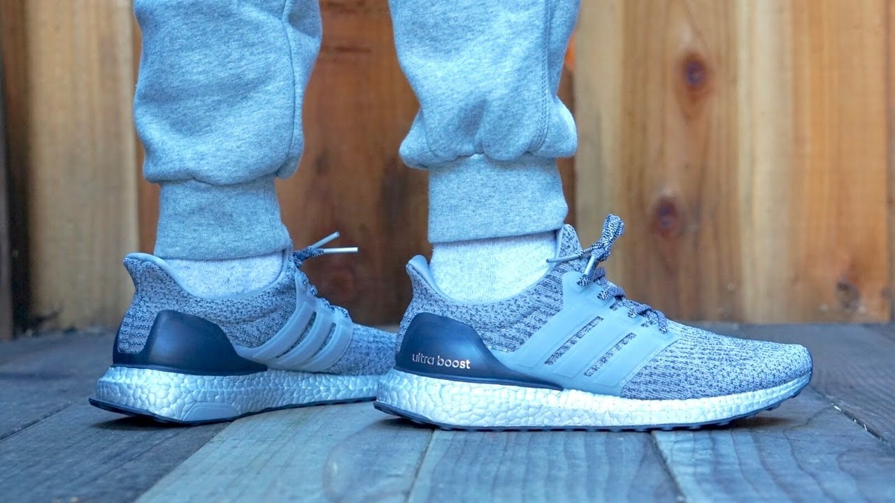 hot sale online 2fd3c 058a5 On Feet: Adidas UltraBoost 3.0 (Silver Boost) BA8143 2017