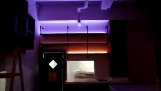 Светодиодная подсветка в ресторане(, 2016-05-10T13:34:52.000Z)