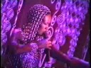 watch he video of Grace Jones live at the Palladium #1 Wearing David Spada Costume!