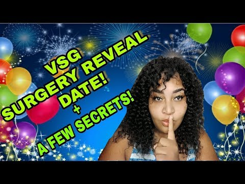 VSG SURGERY DATE REVEALED AND MORE || VSG SURGERY 2018