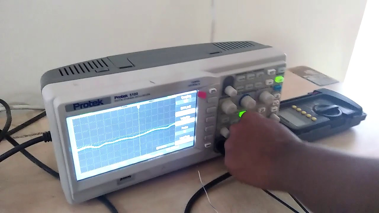 full wave rectifier lab experiment