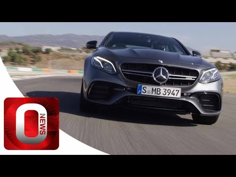 Mercedes-AMG E 63 S 4MATIC+ • On track [HD] (Option Auto News)