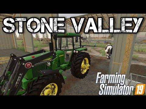 🔴LIVE: STONE VALLEY X2 FULL VERSION! MAKING MONEY IN WINTER ! | Farming Simulator 19 Episode 19