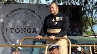 His Majesty King Tupou VI - Official Birthday Military Parade