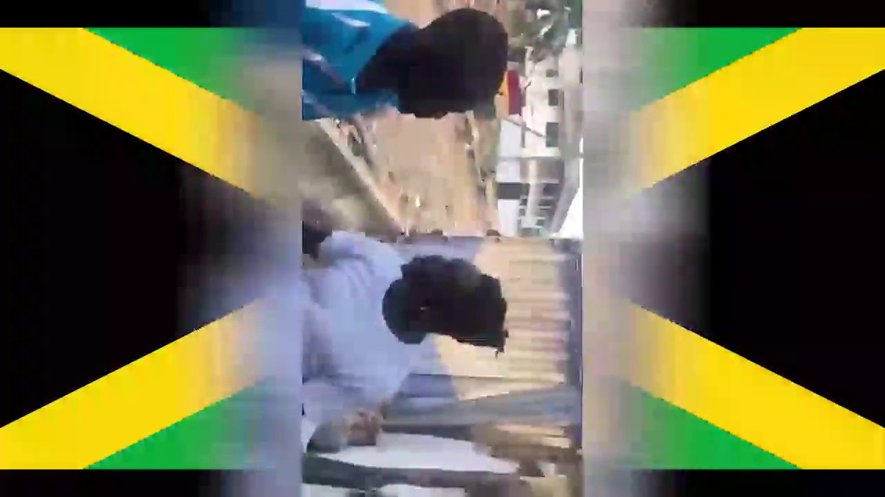 2 Ghanaian fighting over Jamaican language