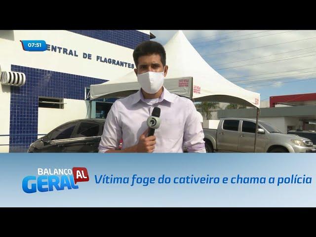 Arapiraca: Vítima foge do cativeiro e chama a polícia