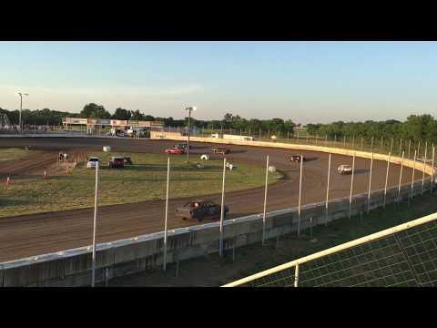 Heat race win !! Humboldt Speedway 6/92017