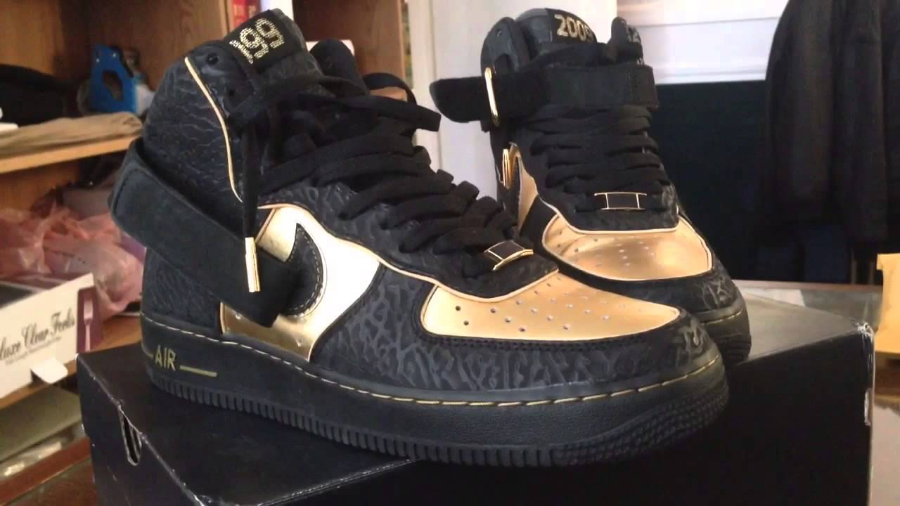 Nike Air Force 1 Supreme Hi Nitro Microphone Underground ...