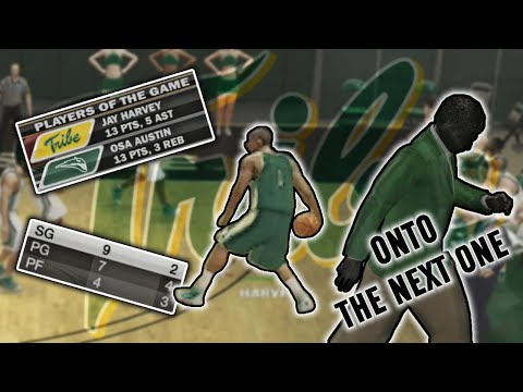 NCAA Basketball 10 | William & Mary Tribe #4 | Harvey Dah Gawd