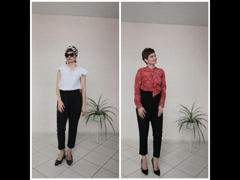 Одежда Фаберлик,вариации на тему черных брюк. Новинки 5 каталога .
