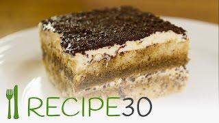 Easy Tiramisu Cake Recipe  Best Ever With No Bake
