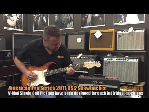 Fender American Professional HSS Stratocaster Demo | Big Music Shop