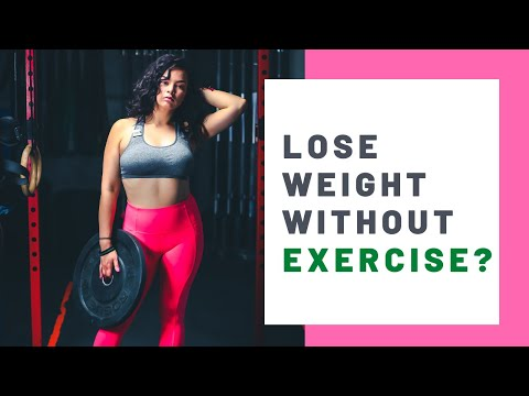 How to lose weight naturally without any exercise [6 easy tips]