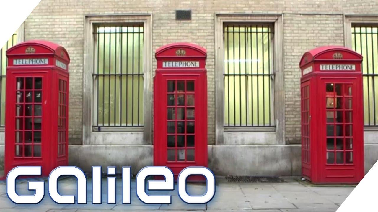 Verrucktes London Alte Telefonzellen Als Buro Galileo Prosieben