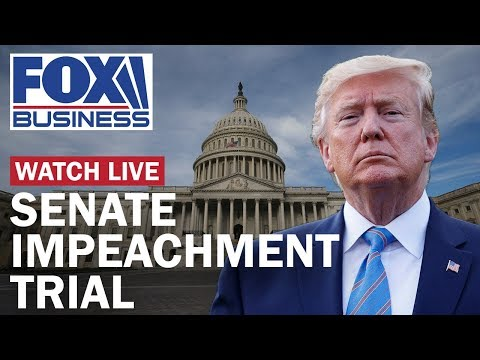 Trump impeachment trial in the Senate | Day 2