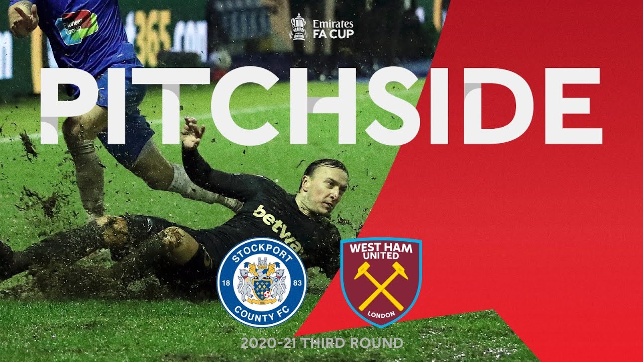 PITCHSIDE | Hammers Fight Crazy Weather Conditions and County in Third Round | Emirates FA Cup 20-21