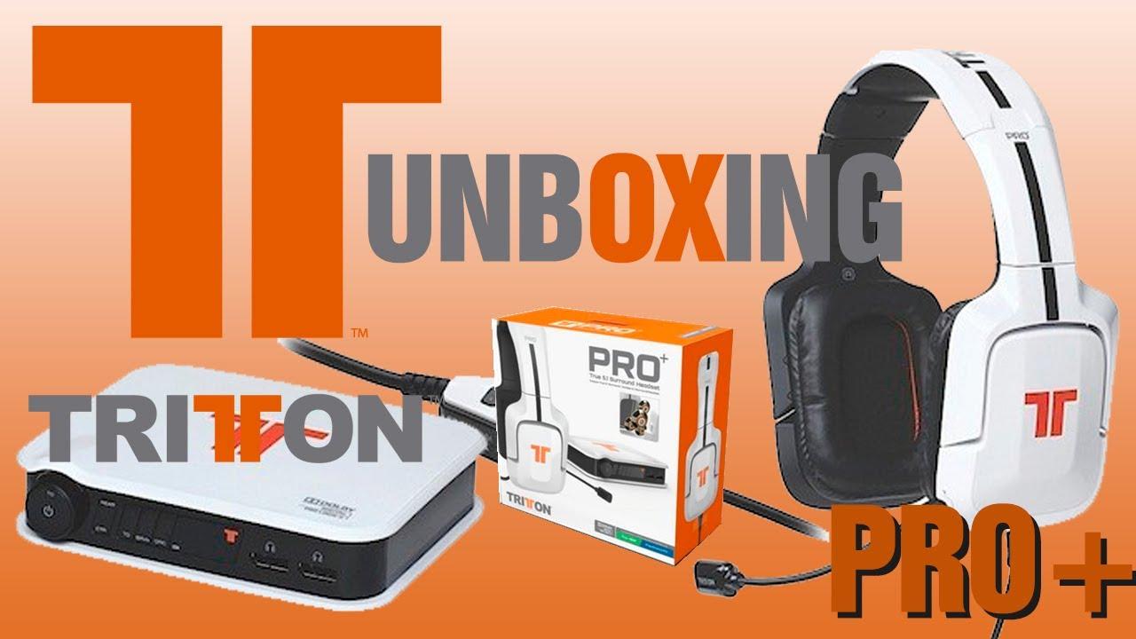 1257a1a0154 Tritton PRO+ 5.1 Surround Headset - Unboxing Animado - YouTube