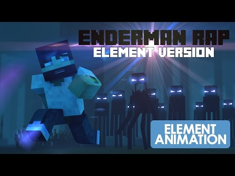 Thumbnail: MINECRAFT ENDERMAN RAP|ELEMENT VERSION