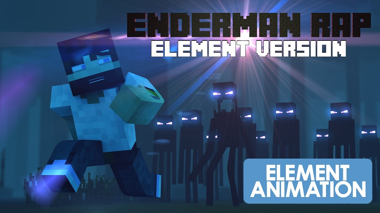 Zapped Again MINECRAFT ENDERMAN RAP...