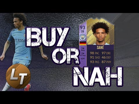 PFA Young Player Sane!  |  Buy or Nah  |  FIFA 18 Player Review Series