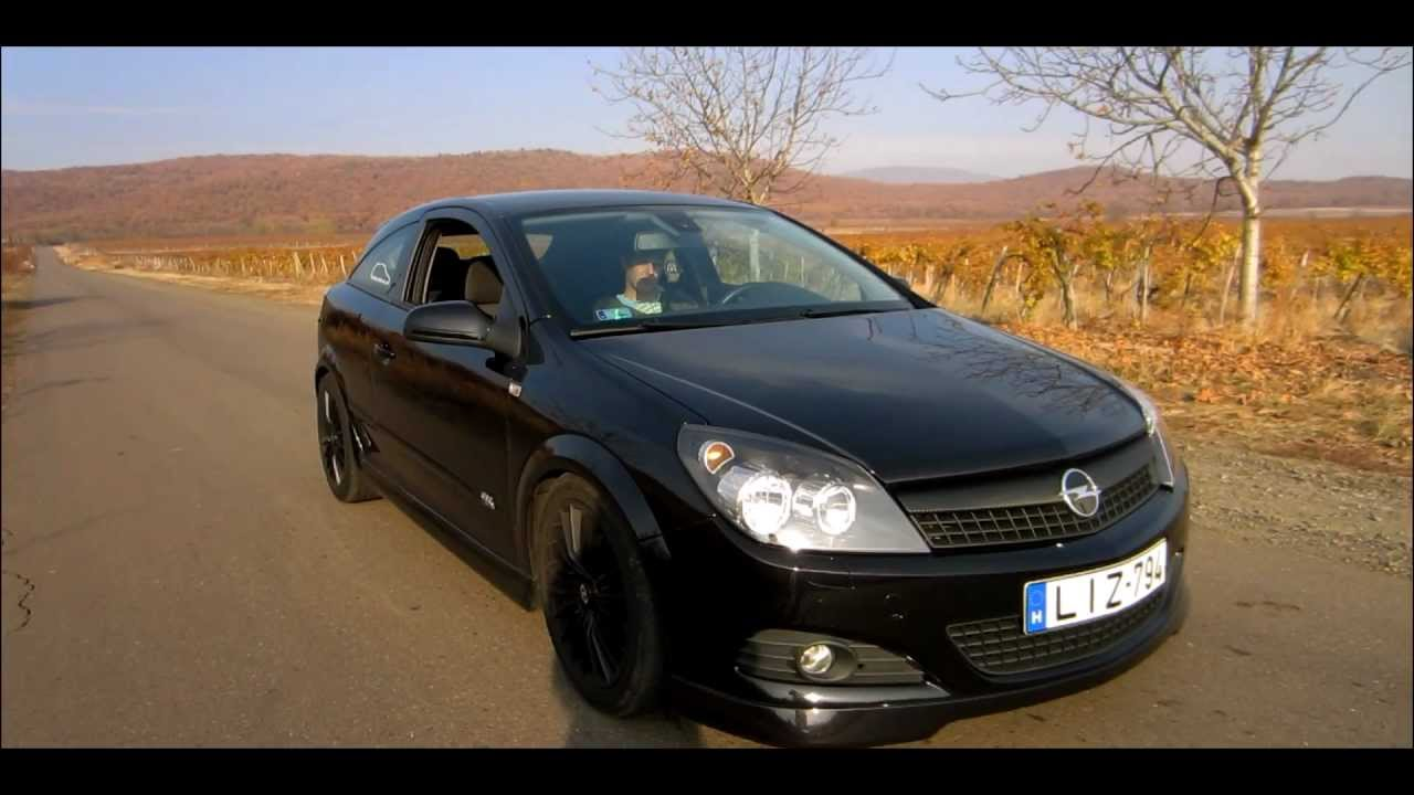 opel astra gtc 1 9 cdti opc line youtube. Black Bedroom Furniture Sets. Home Design Ideas