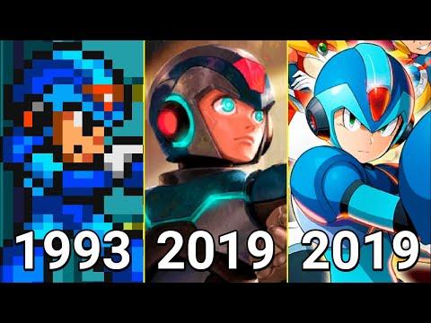 Evolution Of Mega Man X In Games 1993-2019