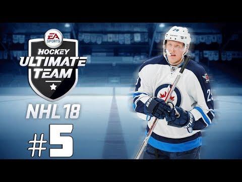 NHL 18 HUT: MON MEILLEUR PULL! #5   (QC,FR)