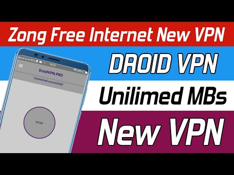 Droid VPN Free Internet Setting 2020 | New VPN Working On Zong | Tunisia Internet Gratuit